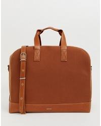 braune Shopper Tasche aus Leder von matt & nat
