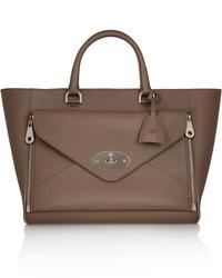 braune Shopper Tasche aus Leder von Mulberry