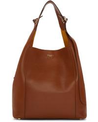 braune Shopper Tasche aus Leder von Nina Ricci