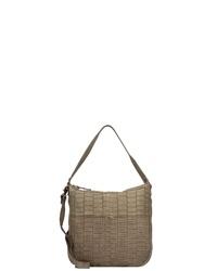 braune Shopper Tasche aus Leder von Taschendieb Wien