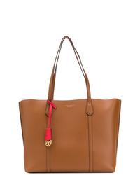 braune Shopper Tasche aus Leder von Tory Burch