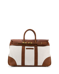 braune Shopper Tasche aus Segeltuch von Brunello Cucinelli