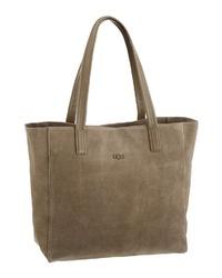 braune Shopper Tasche aus Wildleder von UGG