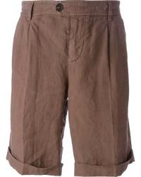 braune Shorts von Brunello Cucinelli