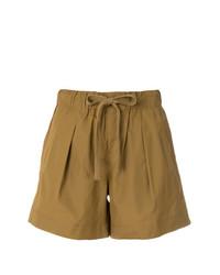 braune Shorts von Vince