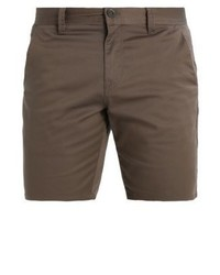 braune Shorts von Volcom