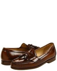 Braune slipper mit quasten original 2570037