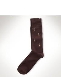 braune Socke