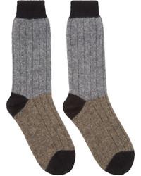braune Socken von Haider Ackermann