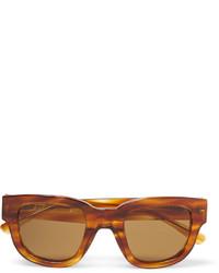 braune Sonnenbrille von Acne Studios