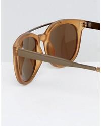 braune Sonnenbrille von A. J. Morgan