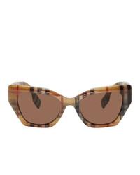 braune Sonnenbrille von Burberry
