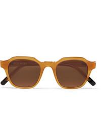 braune Sonnenbrille von Dick Moby