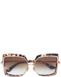 braune Sonnenbrille von Dita Eyewear