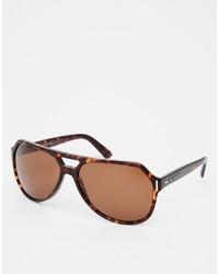 braune Sonnenbrille von Dolce & Gabbana