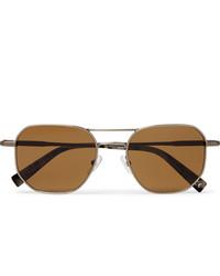 braune Sonnenbrille von Ermenegildo Zegna