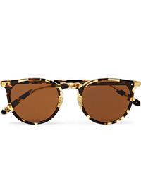 braune Sonnenbrille von Garrett Leight California Optical