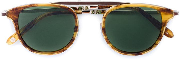 braune Sonnenbrille von Garrett Leight