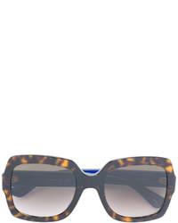 braune Sonnenbrille von Gucci