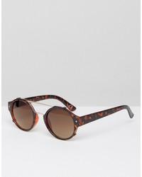 braune Sonnenbrille von Jeepers Peepers