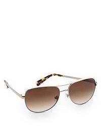 braune Sonnenbrille von Kate Spade