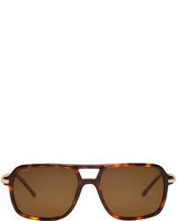 braune Sonnenbrille von Loewe