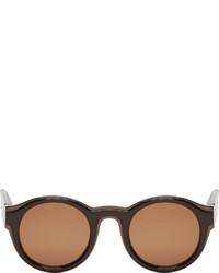braune Sonnenbrille von Maison Margiela