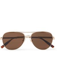 braune Sonnenbrille von Montblanc
