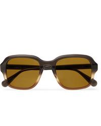 braune Sonnenbrille von Moscot