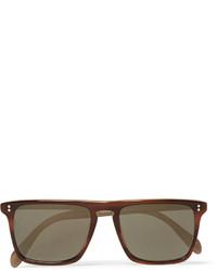 braune Sonnenbrille von Oliver Peoples
