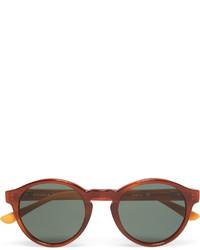 braune Sonnenbrille von Orlebar Brown