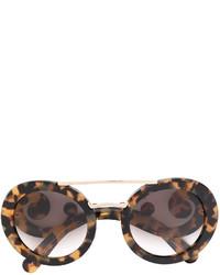 braune Sonnenbrille von Prada