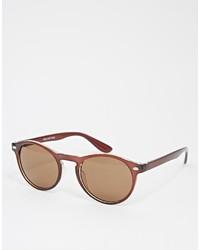 braune Sonnenbrille von Selected