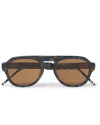 braune Sonnenbrille von Thom Browne