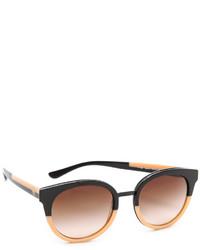 braune Sonnenbrille von Tory Burch