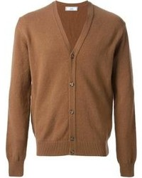 braune Strickjacke