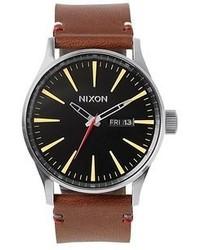 Braune Uhr