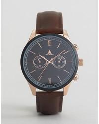braune Uhr von Asos