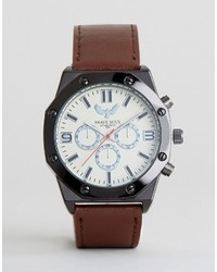 braune Uhr von Brave Soul