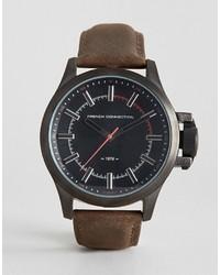braune Uhr von French Connection