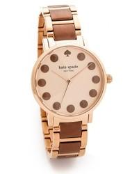 braune Uhr von Kate Spade