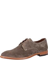 braune Wildleder Derby Schuhe von Lloyd