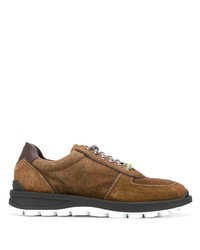 braune Wildleder niedrige Sneakers von Etro