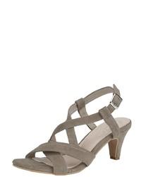 braune Wildleder Sandaletten von Andrea Conti