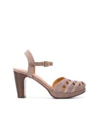 braune Wildleder Sandaletten von Chie Mihara