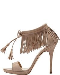 braune Wildleder Sandaletten von PoiLei