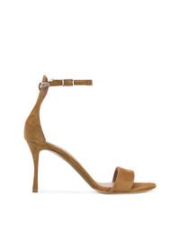 braune Wildleder Sandaletten von Tabitha Simmons