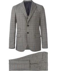 brauner Anzug mit Karomuster von Eleventy