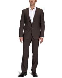 brauner Anzug von Strellson Premium