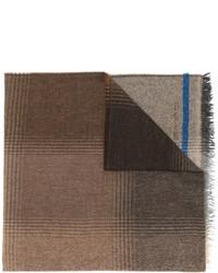 brauner bedruckter Schal von Etro